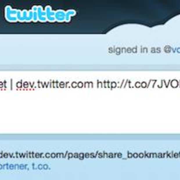 Twitter Tweet button nu ook in je browser