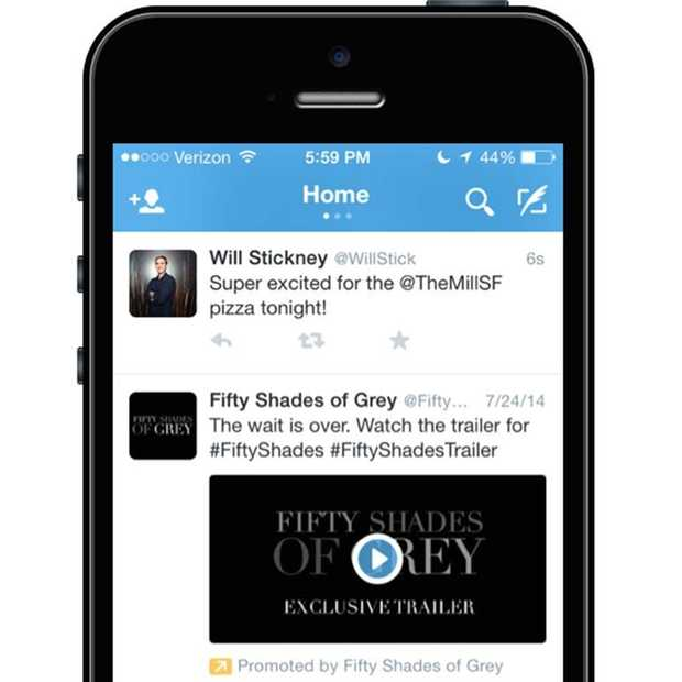 Twitter start beta test met Promoted Video