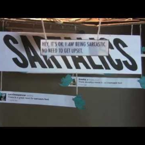 Twitterblitz for Sartalics (Digital Flash Mob)