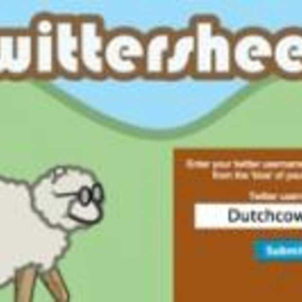 Twittersheep : Followers in een tagcloud