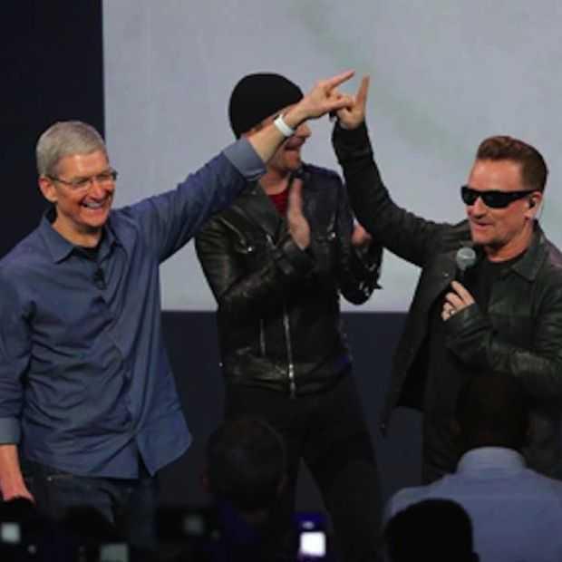 Apple lanceert App om U2's album te verwijderen