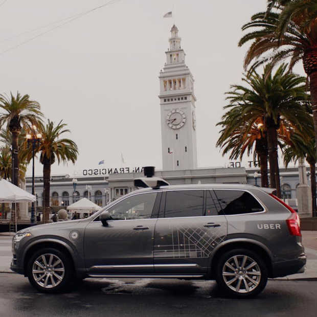 Uber komt (en gaat) met self-driving taxi's in San Francisco (Video)