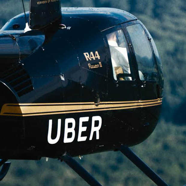 Naar Mysteryland met 'helikopter on-demand' van Uber