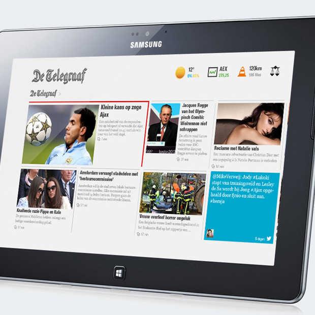 Uitgevers in Nederland en Belgie storten zich op Windows 8