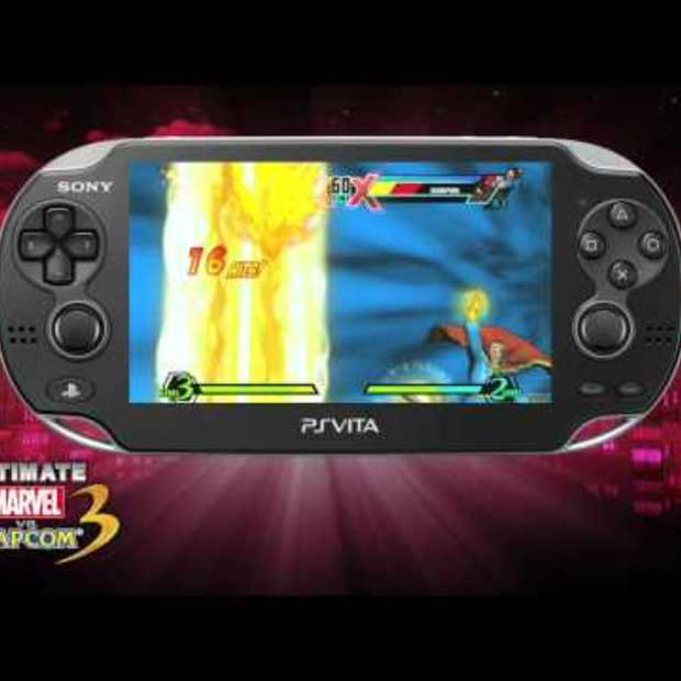 Ultimate Marvel VS Capcom 3 Vita gameplay