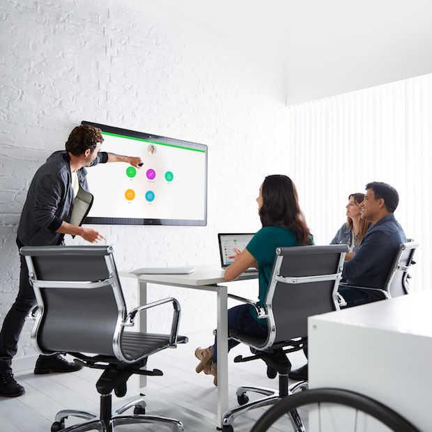 Geen vervelende vergaderingen meer met Cisco's baanbrekende vergaderruimte