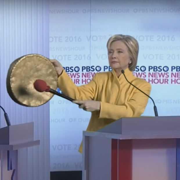 De grappigste momenten van de verkiezingsstrijd tussen Trump en Clinton