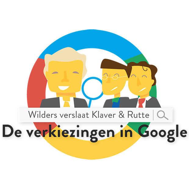 Wilders verslaat Klaver & Rutte: de verkiezingen in Google