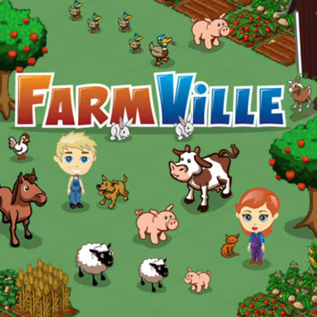 verstop je iPad: Farmville is er