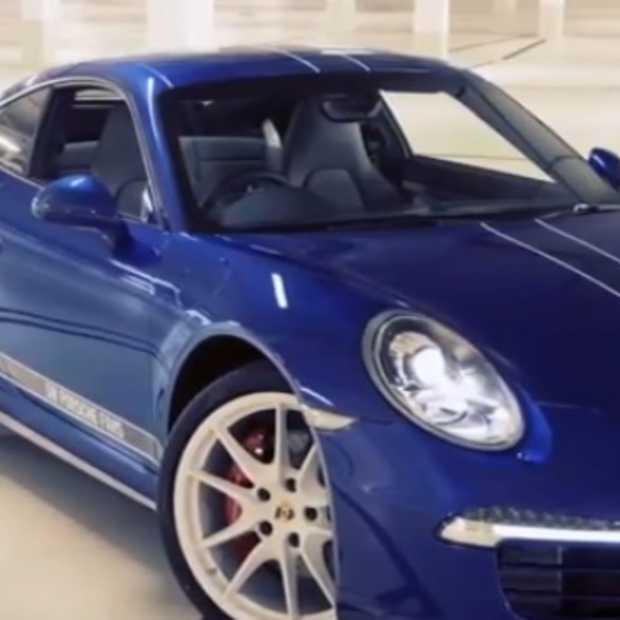 [Video] Nieuw model Porsche met hulp Facebook-vrienden