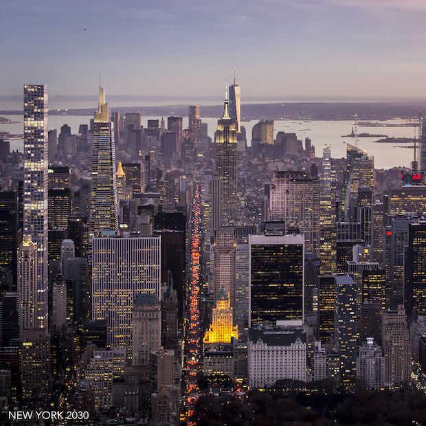 Zo ziet de New York skyline er in 2030 uit