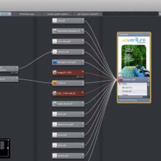 Visuele workflow manager
