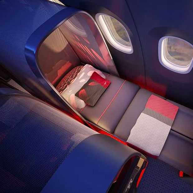 Nike maakt vliegen topsport-proof met hypermodern vliegtuig