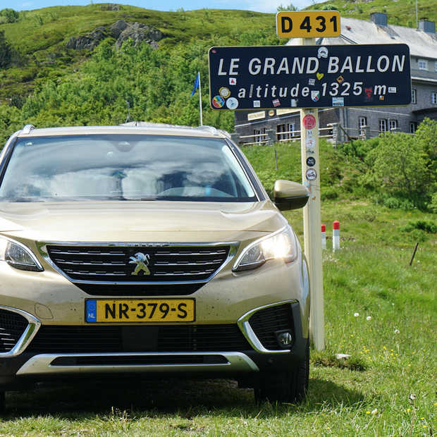 Roadtrip Peugeot 5008 SUV door de Vogezen