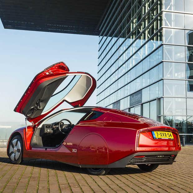 De zuinigste auto ter wereld? Volkswagen XL1 rijdt 1 op 111