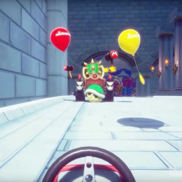 Er bestaat een Mario Kart VR - maar je moet er voor naar Japan