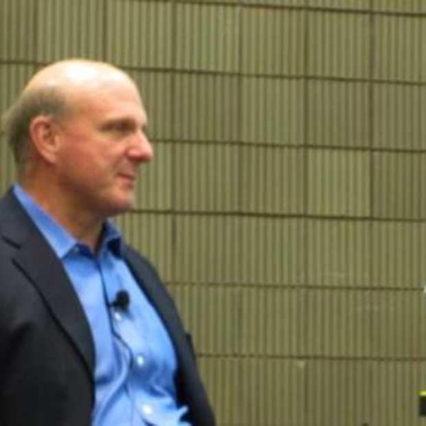 Vraag en antwoord sessie Steve Ballmer