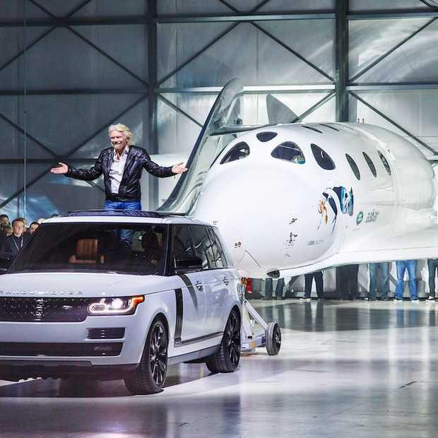 VSS Unity is het nieuwe ruimteschip van Sir Richard Branson