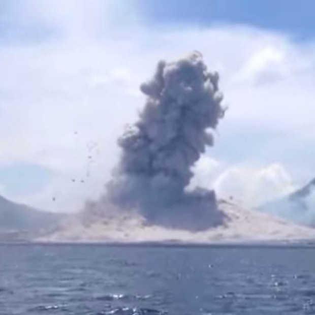 Going Viral: Uitbarsting van de Mount Tavurvur vulkaan gefilmd