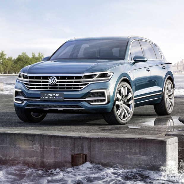 Volkswagen toont fraaie hightech fullsize SUV: T-Prime Concept GTE