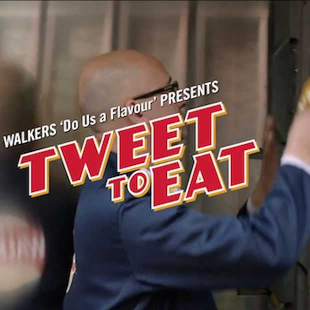 Leuke campagne van Walker's: Tweet to eat