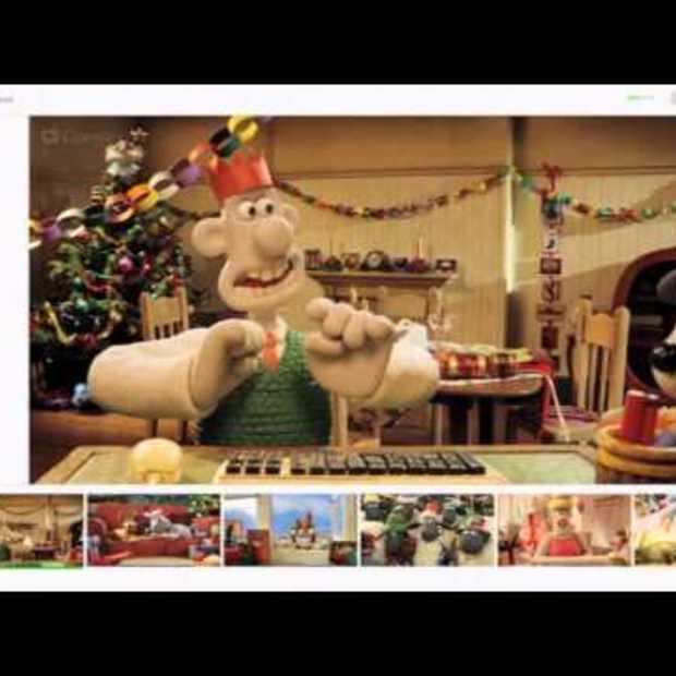 Wallace & Gromit: Google+ Hangout