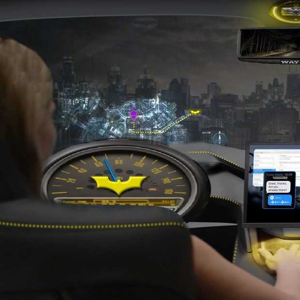 Intel is nu al bezig met systeem voor reclame in autonome auto's