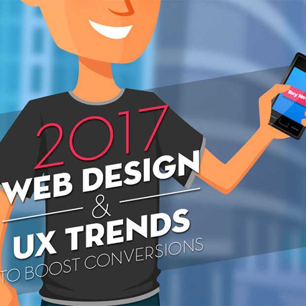 Dit zijn de Web Design & UX Trends voor 2017 [Infographic]