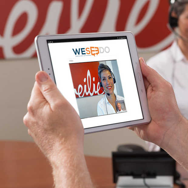 Realtime communicatie binnen websites en webshops