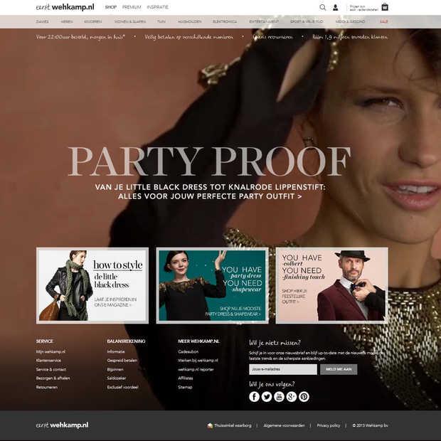 wehkamp.nl lanceert geheel nieuwe website