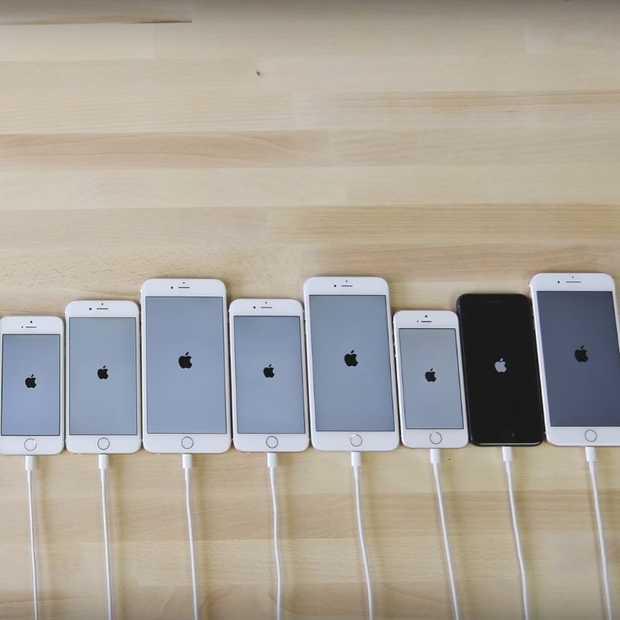 Welke iPhone is het snelst?