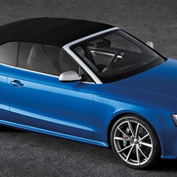 Wereldpremière in Parijs: Audi RS 5 Cabriolet