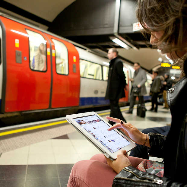 WiFi beschikbaar in eerste Londense metrostations