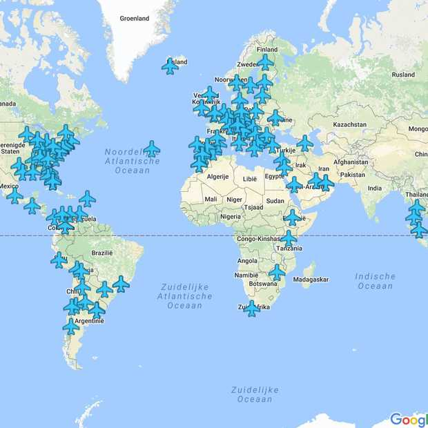 Alle WiFi-wachtwoorden van vliegvelden over de hele wereld