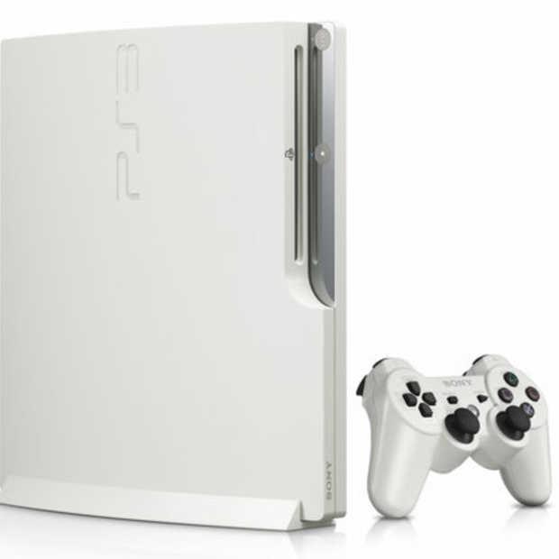 Witte Playstation 3 slim blijft in Japan