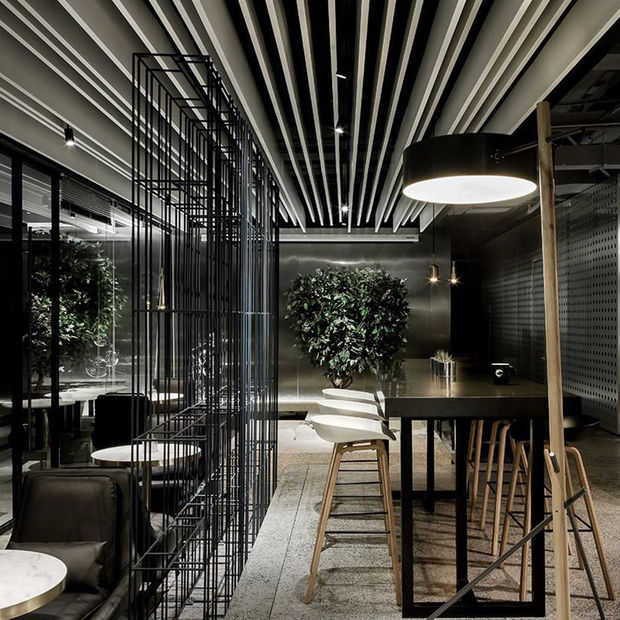 Internetcafé's worden steeds luxer en socialer opgezet