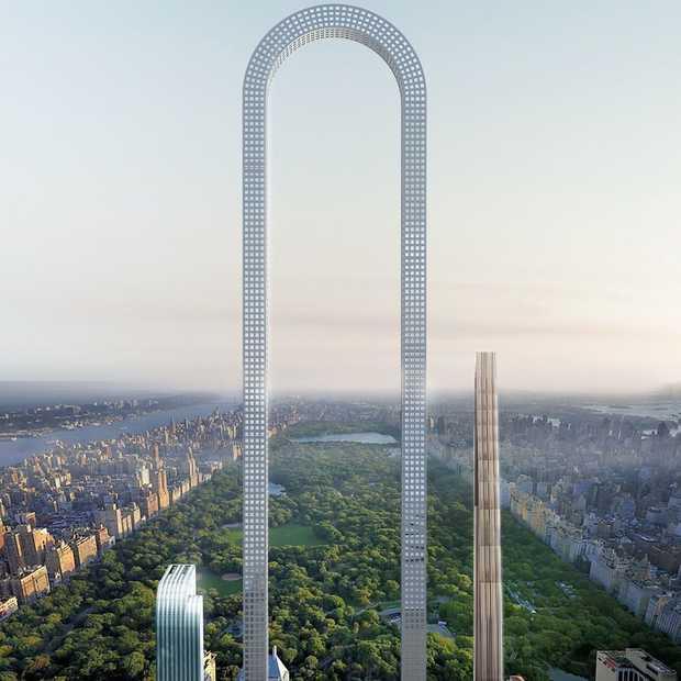 Wordt dit de meest bizarre wolkenkrabber van New York?