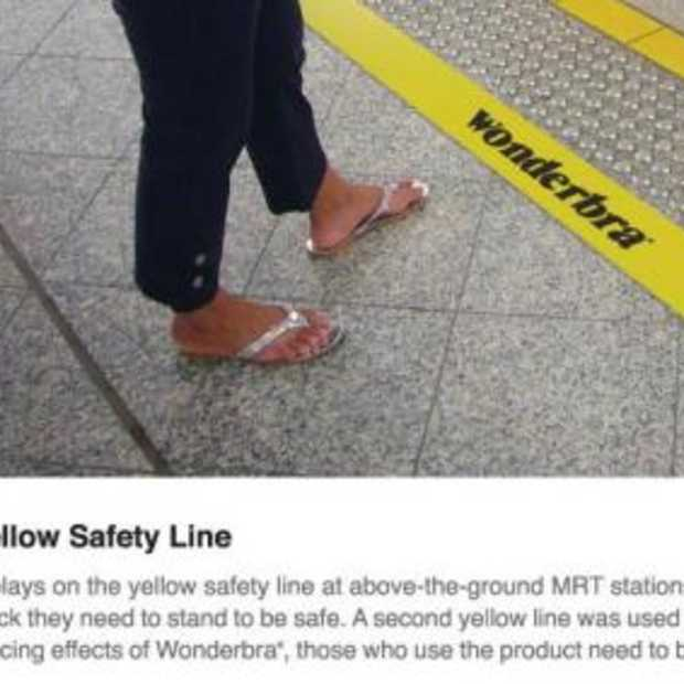 Wonderbra: Yellow Safety Line