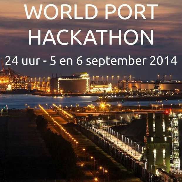 24 uurs World Port Hackathon in Rotterdam met Google Glass en drones