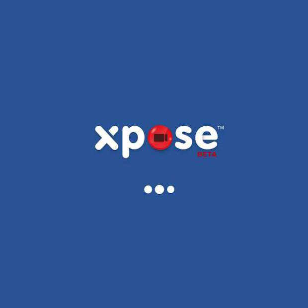 Xpose: livestreaming app filmt bij paniek