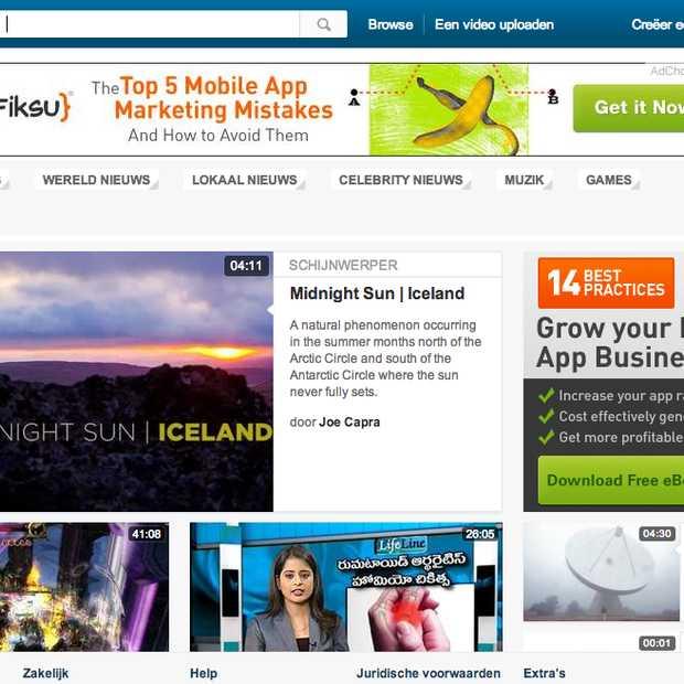 Yahoo krijgt mogelijk flink aandeel in Dailymotion