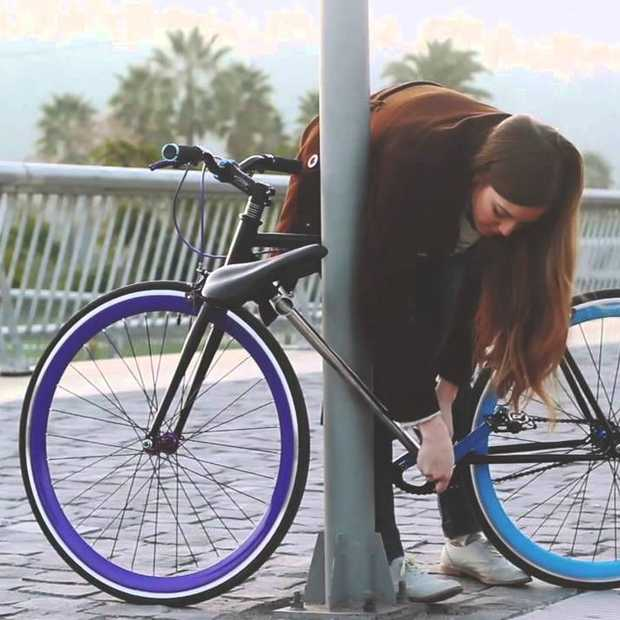 Amsterdam we hebben de oplossing! De onsteelbare fiets is een feit
