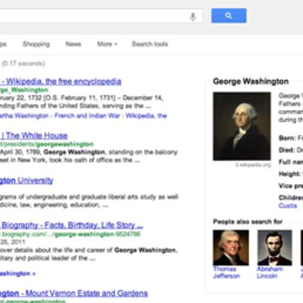 Zoekresultatenpagina Google in een nieuw jasje gestoken