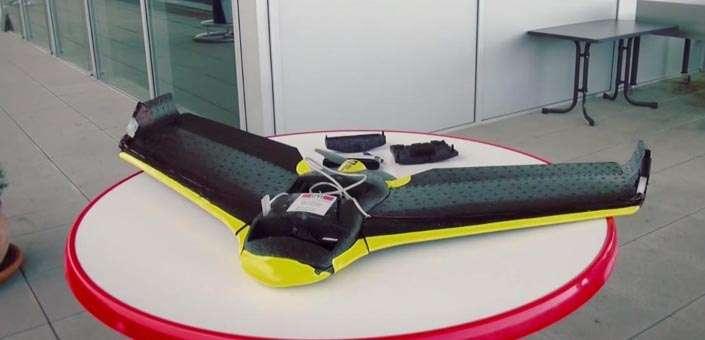 Een Drone die overlevenden kan vinden via hun telefoon