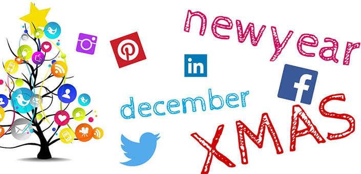 15 ideeën om de feestdagen in je social strategie te integreren