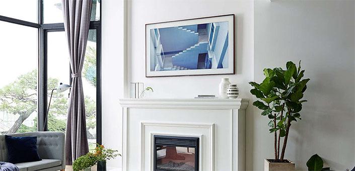 Met The Frame van Samsung maakt het niet uit of de TV aan- of uitstaat
