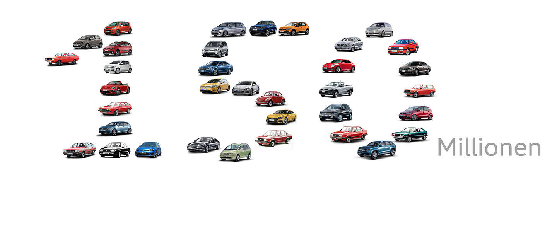 Mijlpaal: 150 miljoen Volkswagen's gebouwd
