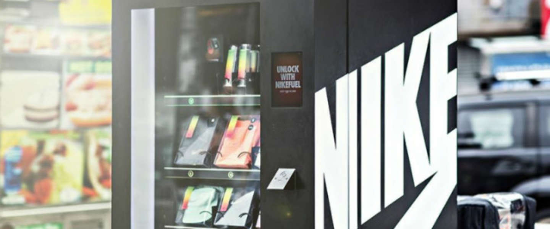 Geheime Nike automaat geeft gratis FuelBand accessoires