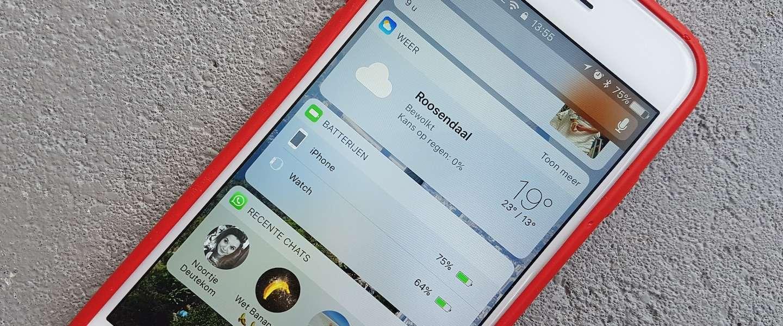 Ingebouwde Apple apps verwijderen van het beginscherm op uw iOS Beginscherm van je iPhone indelen op 5 manieren - iCulture
