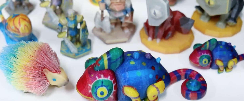 Deze nieuwe 3D-printer laat je vrijwel alle kleurencombinaties printen
